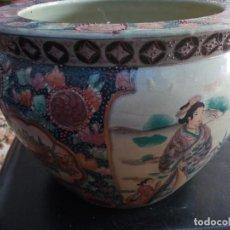Antigüedades: SATSUMA MACETERO. Lote 251130600