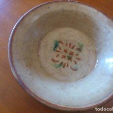 Antigüedades: PLATO DE CERAMICA CATALANA.. Lote 251133975