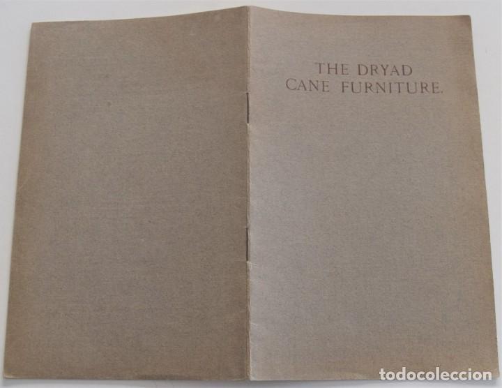 Antigüedades: CATÁLOGO MUEBLES DE MIMBRE INGLÉS AÑOS 20-30 THE DRYAD CANE FURNITURE FABRICANTE HARRY PEACH - Foto 2 - 251189330