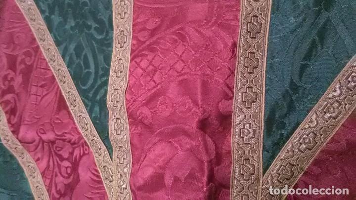 Antigüedades: Ropa eucaristica, casulla o stolas, escapularios.. - Foto 7 - 251191960