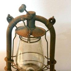 Antigüedades: FAROL ANTIGUO QUINQUE ORIGINAL DE BARCO. Lote 251278225