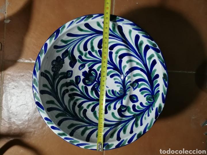 Antigüedades: Frutero de ceramica fajalauza granadina - Foto 2 - 251337160