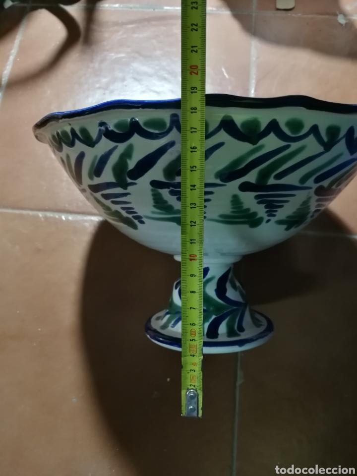 Antigüedades: Frutero de ceramica fajalauza granadina - Foto 5 - 251337160