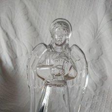 Oggetti Antichi: FIGURA DE CRISTAL, ANGEL. Lote 251351490