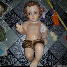 Antigüedades: NIÑO JESÚS OLOT 40 CM PARA RESTAURAR. Lote 251436065