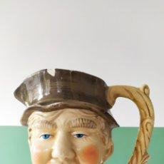 Antigüedades: GRAN JARRA CON CARA, ESTILO TOBY JUB; CERÁMICA INGLESA. ANTIGUA.. Lote 251436105