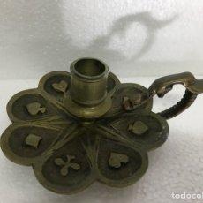 Antigüedades: PALMATORIA GRABADO PÓKER. Lote 251520065