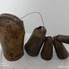 Antiquités: LOTE DE CENCERROS ANTIGUOS!. Lote 251554300