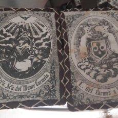 Antigüedades: ESCAPULARIO SRA. DEL MONTE CARMELO. Lote 251621315