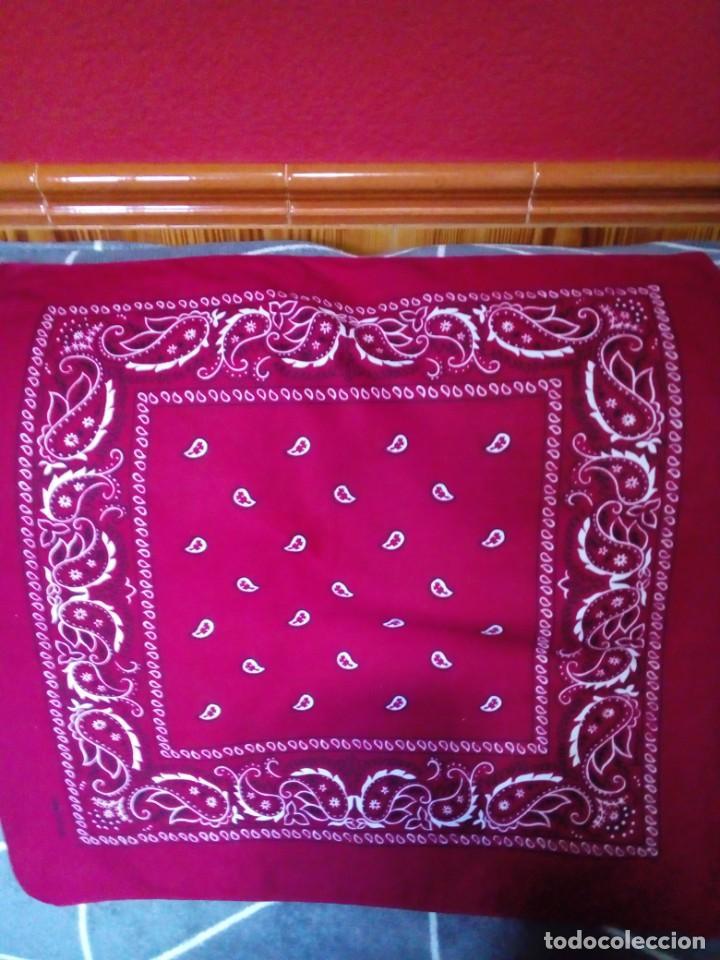PAÑUELO DE ALGODON (Antigüedades - Moda - Pañuelos Antiguos)