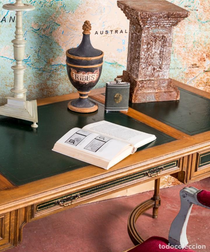 Antigüedades: Mesa Escritorio Antiguo Luis XVI - Foto 2 - 251833730