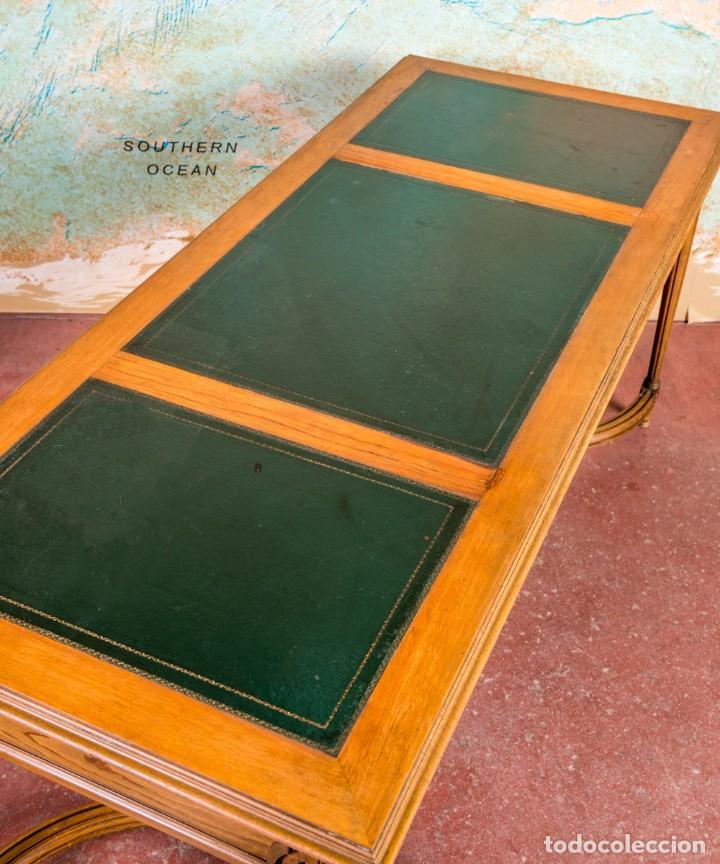 Antigüedades: Mesa Escritorio Antiguo Luis XVI - Foto 4 - 251833730