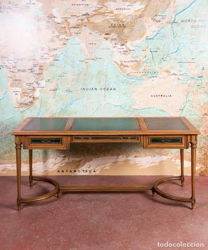 Antigüedades: Mesa Escritorio Antiguo Luis XVI - Foto 5 - 251833730