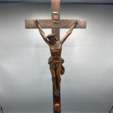 Antigüedades: CRISTO ANTIGUO ALEMAN DE BOJ. Lote 251837125