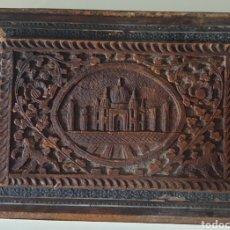 Antigüedades: 2 CAJAS MUY ANTIGUAS INDIAS CON INCRUSRACION DE CONCHAS O MADREPERLA DE PRINCIPIO SIGLOXX. Lote 251901655
