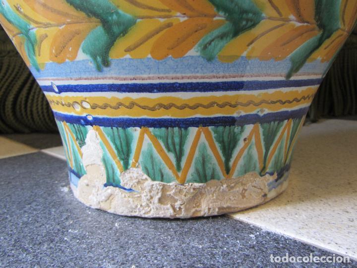 Antigüedades: Enorme jarron ornamental en cerámica de Triana - Ramos Rejano - Siglo XX - Foto 13 - 251959320