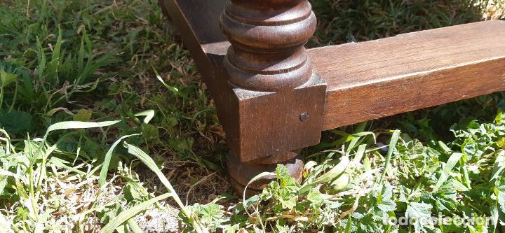 Antigüedades: MUEBLE APARADOR CON PATAS TORNEADAS. - Foto 8 - 251972725