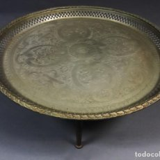 Antigüedades: BANDEJA MESA DEL TÉ ORIGEN ÁRABE. Lote 251977980