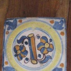 Antigüedades: AZULEJO SIGLO XVIII TRIANA. Lote 251982490