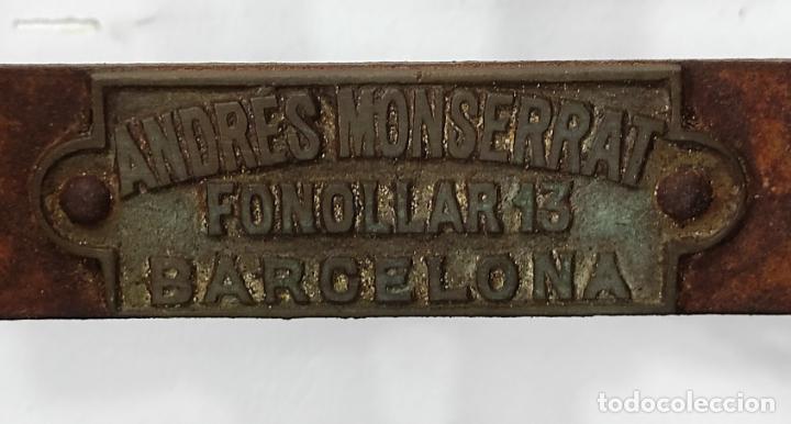 Antigüedades: Antigua Maquina de Pastelería - Andres Monserrat, Barcelona - para Gofres, Creps, etc - Foto 8 - 251991940
