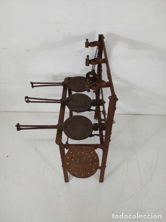 Antigüedades: Antigua Maquina de Pastelería - Andres Monserrat, Barcelona - para Gofres, Creps, etc - Foto 13 - 251991940
