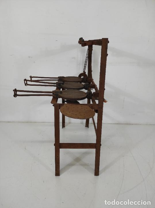 Antigüedades: Antigua Maquina de Pastelería - Andres Monserrat, Barcelona - para Gofres, Creps, etc - Foto 14 - 251991940