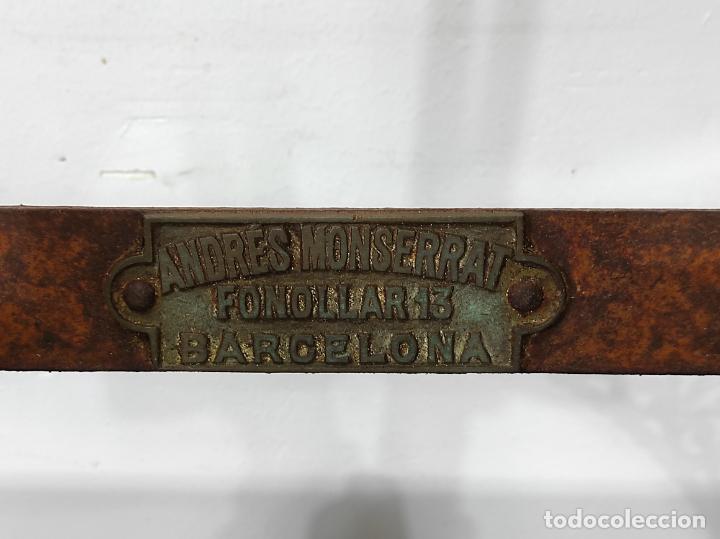 Antigüedades: Antigua Maquina de Pastelería - Andres Monserrat, Barcelona - para Gofres, Creps, etc - Foto 20 - 251991940