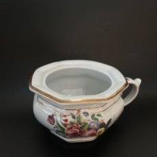 Antigüedades: BELLO ORINAL OCTOGONAL DE PICKMAN - SELLO N 27 - S. XIX. Lote 251995795