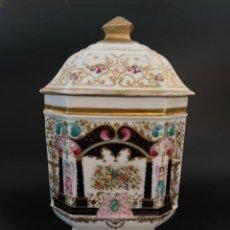 Antigüedades: ALBARELO O TARRO DE FARMACIA FRANCÉS - VIEJO PARIS - S. XIX. Lote 251998075
