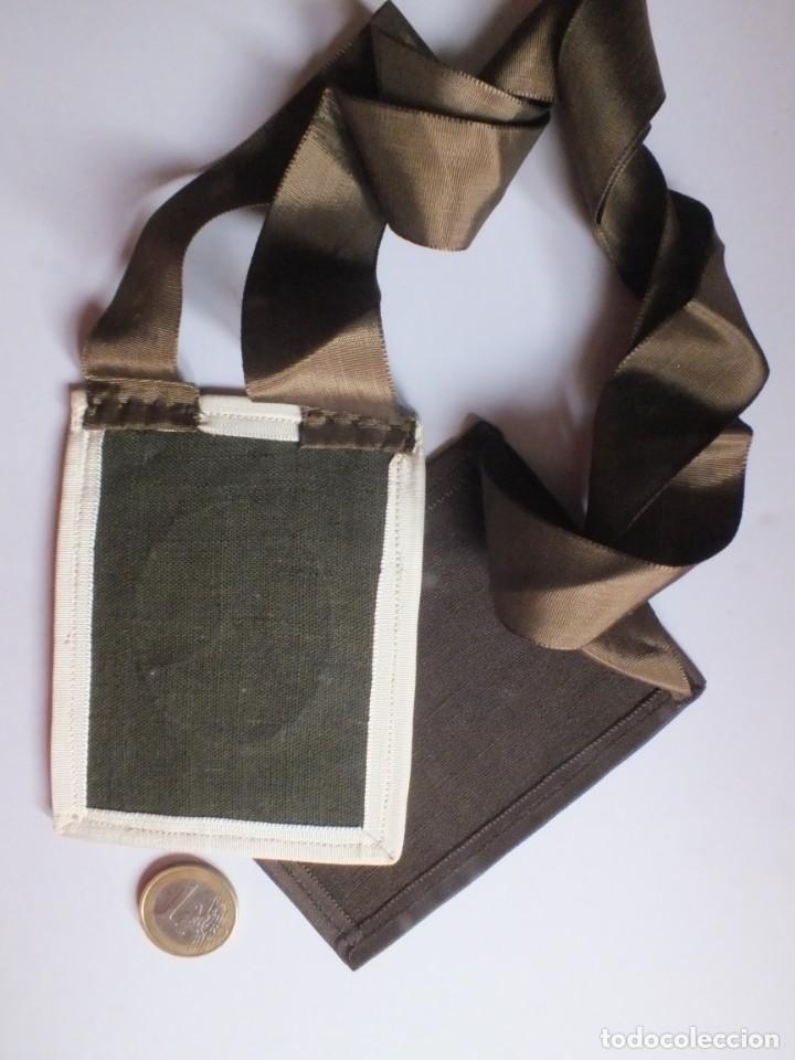Antigüedades: GRAN Escapulario V.O.T. de Zaragoza VIRGEN DEL CARMEN IGLESIA DE SAN PABLO ESCUDO CARMELITAS - Foto 8 - 252025130