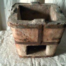 Antigüedades: ANTIGUO HORNILLO DE CERÁMICA PARA CARBÓN VEGETAL. Lote 252073830