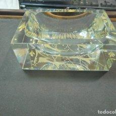 Antigüedades: CENICERO CRISTAL DE MURANO. Lote 252090390