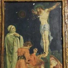 Antigüedades: IMAGEN DEL CALVARIO DE CRISTO. Lote 252103150