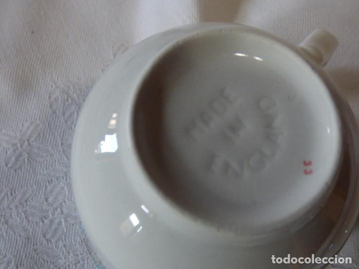 Antigüedades: Taza de porcelana Inglesa. - Foto 2 - 252105300