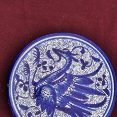 Antigüedades: ANTIGUO PLATO DE COLGAR - CERÁMICA DE TALAVERA. Lote 252159010