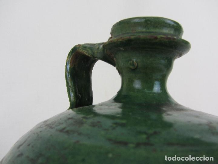Antigüedades: Perula en cerámica verde de Lucena - s. XVIII-XIX - Foto 11 - 252173275