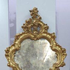 Antigüedades: CORNUCOPIA MADERA DORADA AL ORO FINO - LUIX XV - SIGLO XIX - BUENA PIEZA.. Lote 252238165