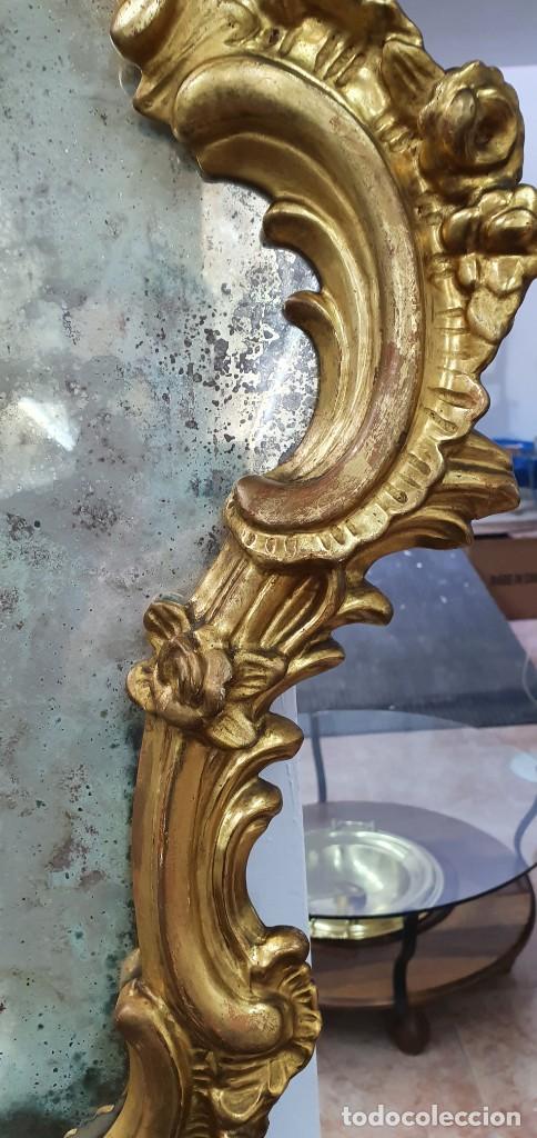 Antigüedades: CORNUCOPIA MADERA DORADA AL ORO FINO - LUIX XV - SIGLO XIX - BUENA PIEZA. - Foto 9 - 252238165