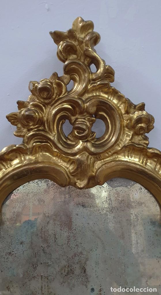 Antigüedades: CORNUCOPIA MADERA DORADA AL ORO FINO - LUIX XV - SIGLO XIX - BUENA PIEZA. - Foto 10 - 252238165