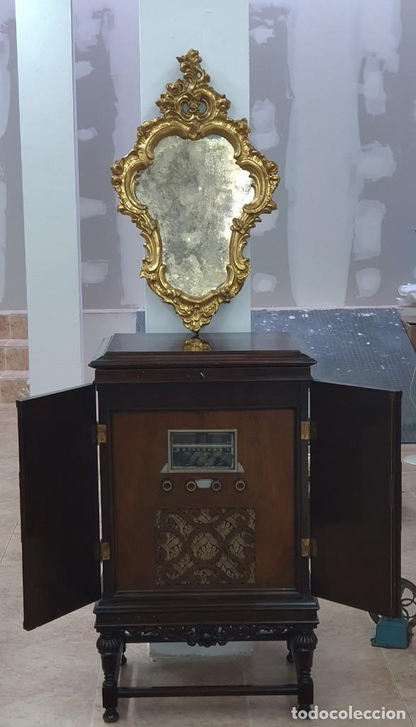 Antigüedades: CORNUCOPIA MADERA DORADA AL ORO FINO - LUIX XV - SIGLO XIX - BUENA PIEZA. - Foto 13 - 252238165