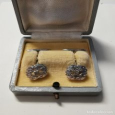 Antiguidades: ANTIGUO PAR DE GEMELOS - AÑOS 50 - CIERRE DE TIENDA - NUEVOS - 32. Lote 252325255