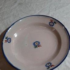Antigüedades: PLATO DE ALCORA,SERIE DEL RAMITO FINAL S. XVIII. Lote 252331430