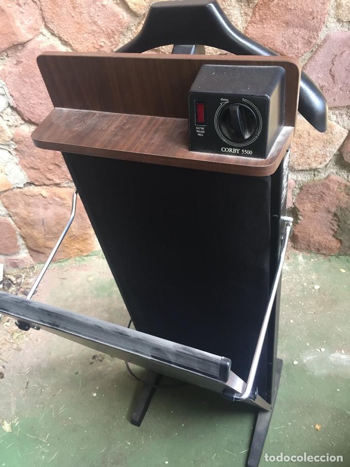 Antigüedades: Planchadora eléctrica Corby 5500, buen estado, casi sin usar - Foto 4 - 252354470