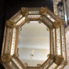 Antigüedades: MAGNIFICO ESPEJO VENECIANO EN PERFECTO ESTADO, ANTIGUO. Lote 252442930
