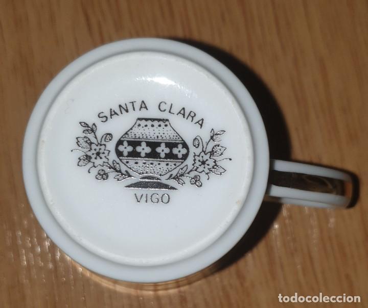 Antigüedades: JUEGO CAFÉ O TÉ PARA 12 SANTA CLARA VIGO AÑOS 70 EN PERFECTO ESTADO - Foto 6 - 252470030