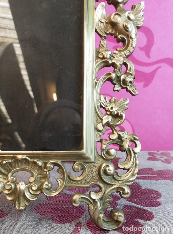 Antigüedades: Portafotos Barroco - Foto 3 - 252505335
