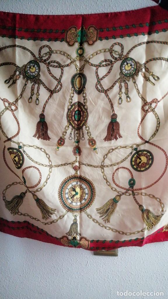 PAÑUELO 75X75CMS (Antigüedades - Moda - Pañuelos Antiguos)