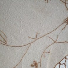 Antigüedades: PAÑUELO 175X55CMS FLECOS PEDRERIA. Lote 252541695