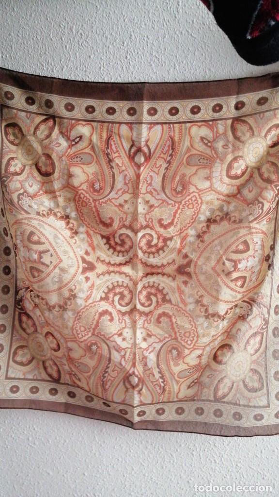 PAÑUELO 50X50CMS MADE IN ITALY (Antigüedades - Moda - Pañuelos Antiguos)