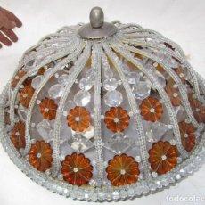 Oggetti Antichi: MARAVILLOSO PLAFON CRISTAL DE BOHEMIA CIRCA 1940 LAMPARA ANTIGUA VINTAGE. Lote 252561660